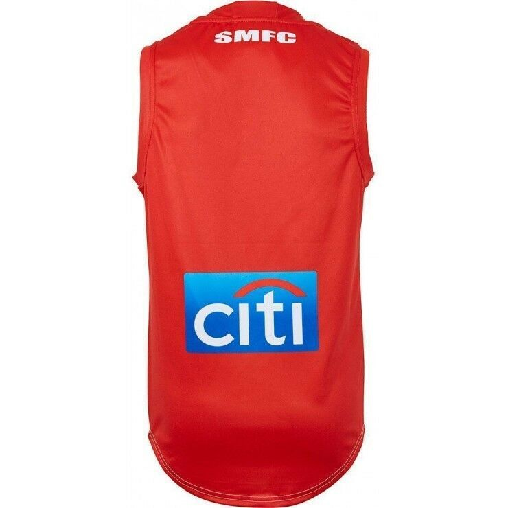 Sydney-Swans-AFL-2018-Home-ISC-Guernsey-Adults-Kids-amp-Toddler-Sizes-In-Stock thumbnail 60