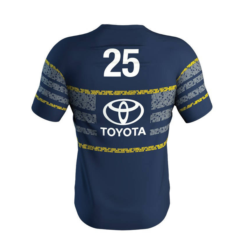 North-Queensland-Cowboys-2020-NRL-Players-Run-Out-Tee-Shirt-Sizes-S-5XL thumbnail 13