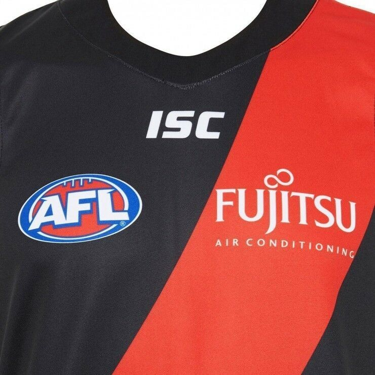 Essendon-Bombers-AFL-Home-ISC-Guernsey-Adults-S-7XL-amp-Kids-Sizes-6-14-T8 thumbnail 13